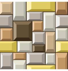 stones seamless pattern vector image