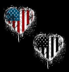 american heart vector image
