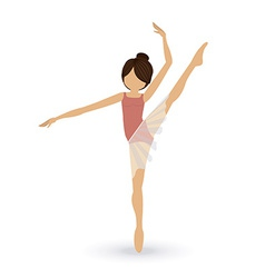 dancer design vector image