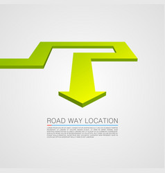 Direction trajectory path vector