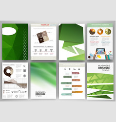 gren creative backgrounds and abstract concept vector image