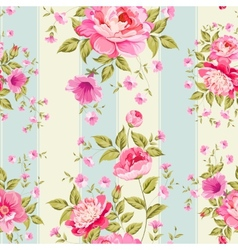 Luxurious flower wallapaper vector image