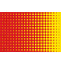 red halftone circle background vector image