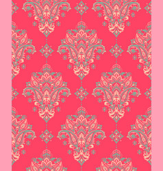 seamless paisley pattern vector image