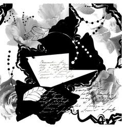 stylized grunge background vector image