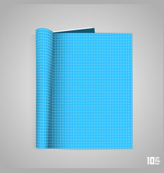 Technical blueprint booklet vector