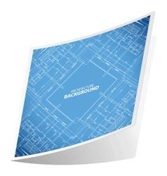 Architecture background sticker 1 vector