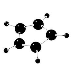 furan icon simple style vector image