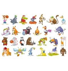 set of animals sport vector image vector image
