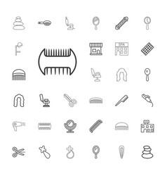 33 salon icons vector