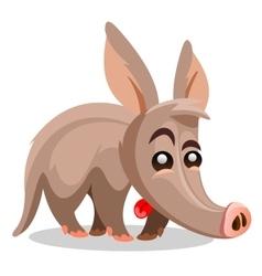 Aardvark A cartoon vector