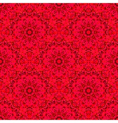 Abstract Seamless Red Geometric Pattern vector
