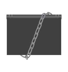 Computer security concept vector