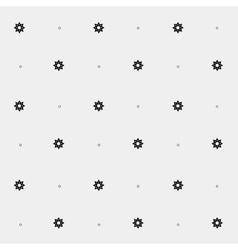 Geometric minimal pattern space sun vector