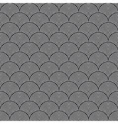 Hidden Circles Seamless Pattern vector image