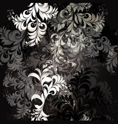 pattern in black and white colors classic style vector image