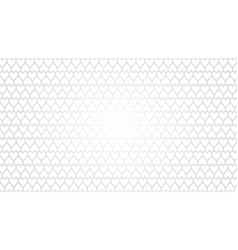 White background with heart texture vector