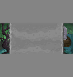 zombie background for game vector image