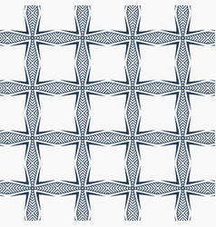 Elegant pattern design in abstract geometric style vector