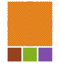 optical illusion background vector illustration vector image