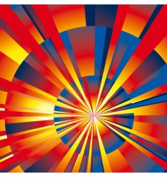 abstract rays background vector image