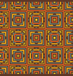 background seamless pattern abstrat carpet ethnic vector image