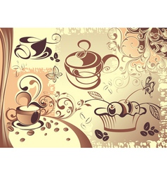 Coffee cup design vector