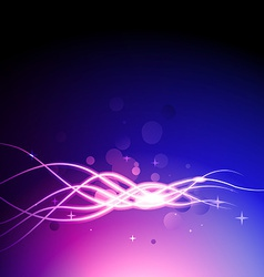 colorful lines backgound art vector image