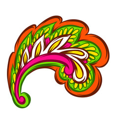 indian ethnic decorative element vector image