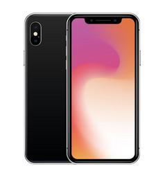 Iphone x vector