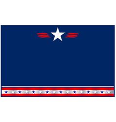 usa flag symbols decorative patriotic background vector image