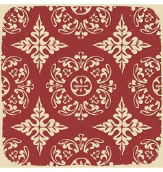 vintage grungy pattern vector image