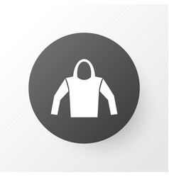hoodie icon symbol premium quality isolated vector image