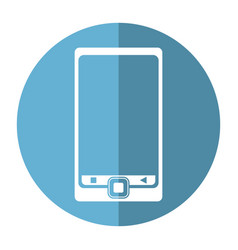 smartphone mobile technology device image vector image