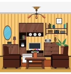Interior Concept Flat vector image vector image