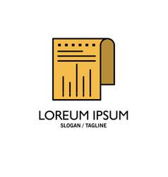 business financial modern report business logo vector image