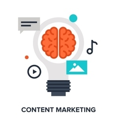 Content Marketing Concept vector image