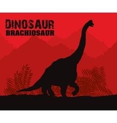 Dinosaur icon design vector