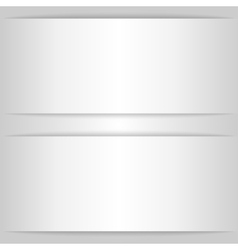 Empty card rectangle with shadow for design vector