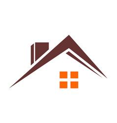 home minimalist concept vector image