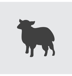 Sheep icon vector image
