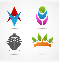new business icon and symbol vector image