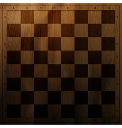vintage chess board vector image
