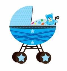 babies pram vector image vector image