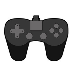 control game isolated icon vector image vector image