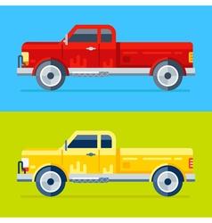 4 pickups vector