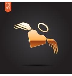 Gold icon vector