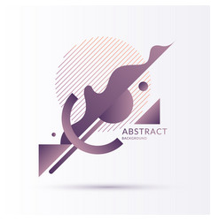 Modern backgrounds with abstract elements vector
