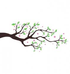 illustration tree vector image vector image