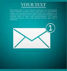 Received message concept email incoming message vector